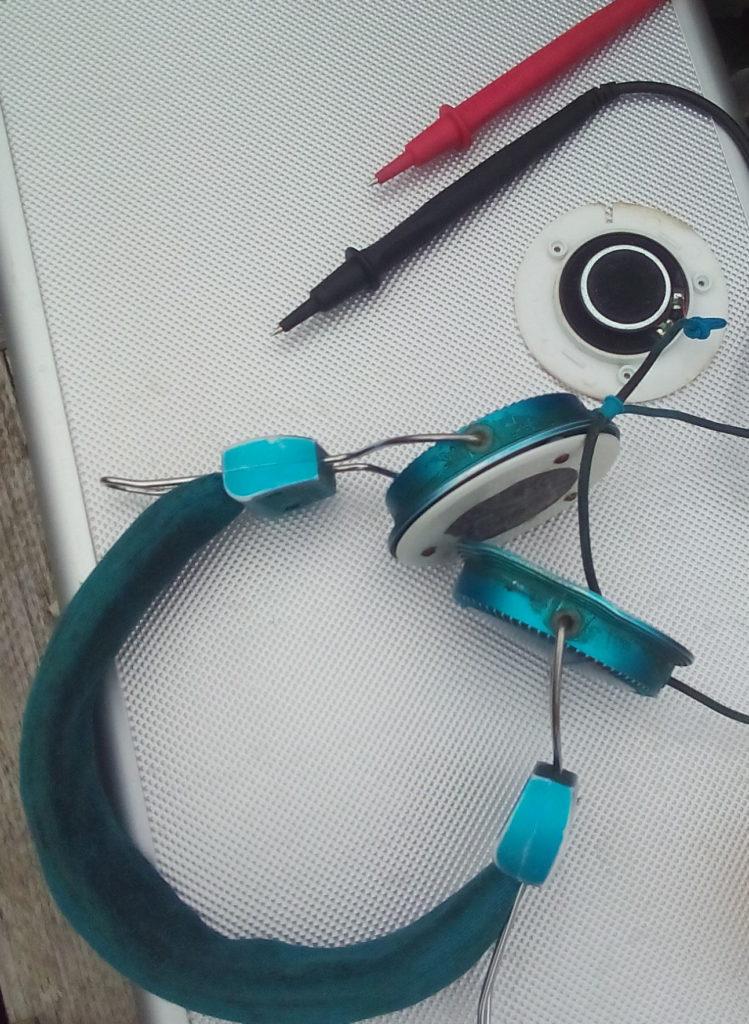 Reparatur von Kopfhörern